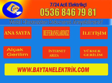Bağlarbaşı Mahallesi Elektrikçi 0536 846 79 81